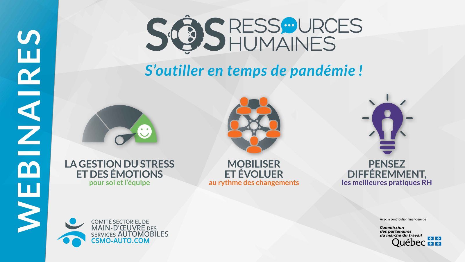 SOS Ressources humaines webinaires
